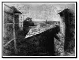 Foto pertama di dunia yang dibuat oleh Niepce dengan menggunakan Bitumen of Judea