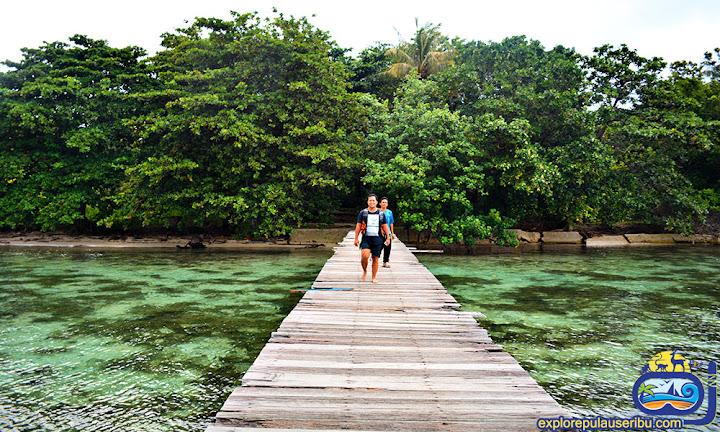 dermaga pulau bira besar