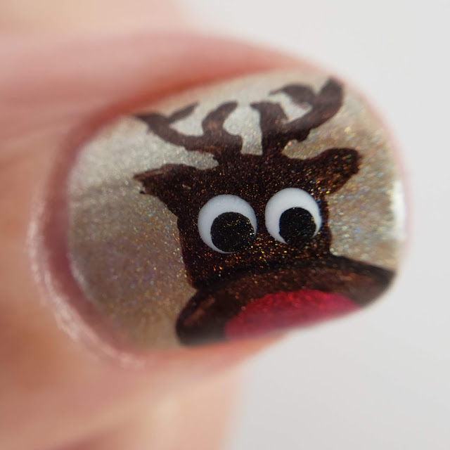 nailstuff.ca, christmas mani, detail brushes, dotting tools, superchic lacquer