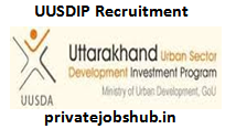 UUSDIP Recruitment