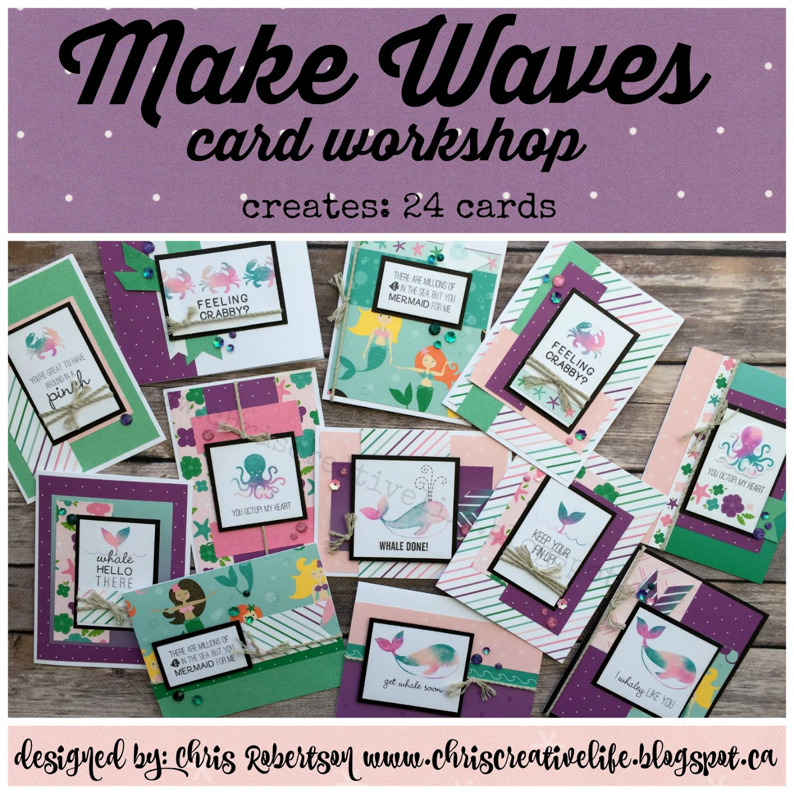 Make Waves Cardmaking Workshop