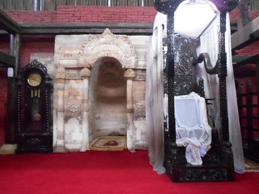 mimbar Masjid Kasepuhan Cirebon
