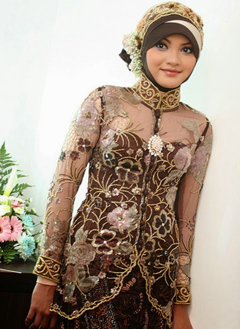 model baju kebaya modern muslimah 2016