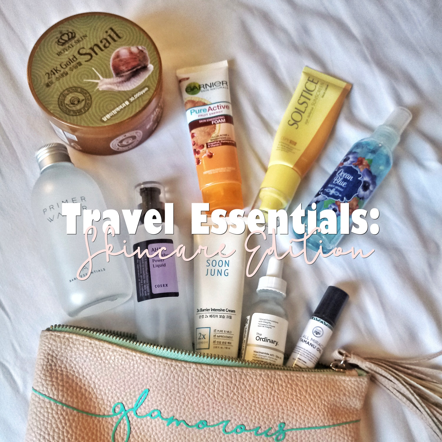 Travel Essentials: Skincare Edition