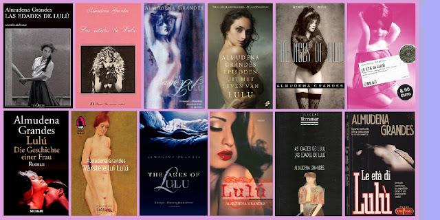 portadas del libro Las edades de Lulú, de Almudena Grandes