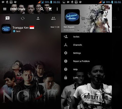 BBM Mod Noah Band V3.2.0.6 Apk