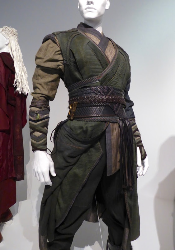 Mordo Doctor Strange movie costume detail