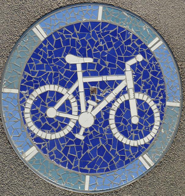Mosaïque vélo