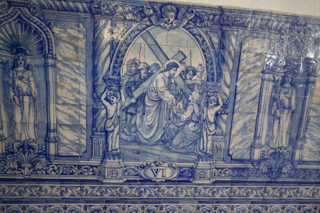 Igreja de Sao Francisco-azulejos-Evora