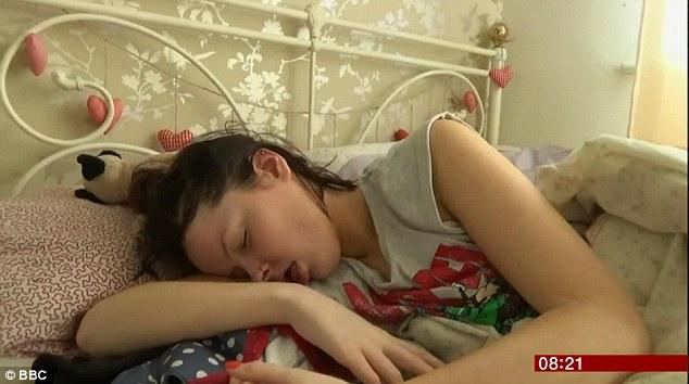 Beth Goodier penderita syndrome sleeping beauty yang tidur sepanjang hari