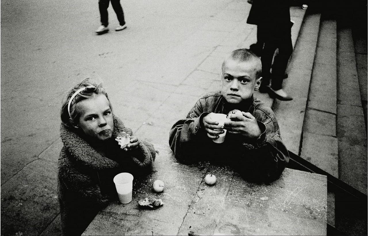 Москва бездомная. 1995 год