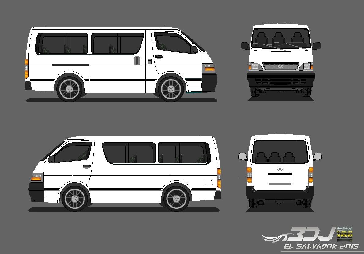 Toyota Of Pullman >> Buses Diseños Jef / El Salvador: TOYOTA-HIACE