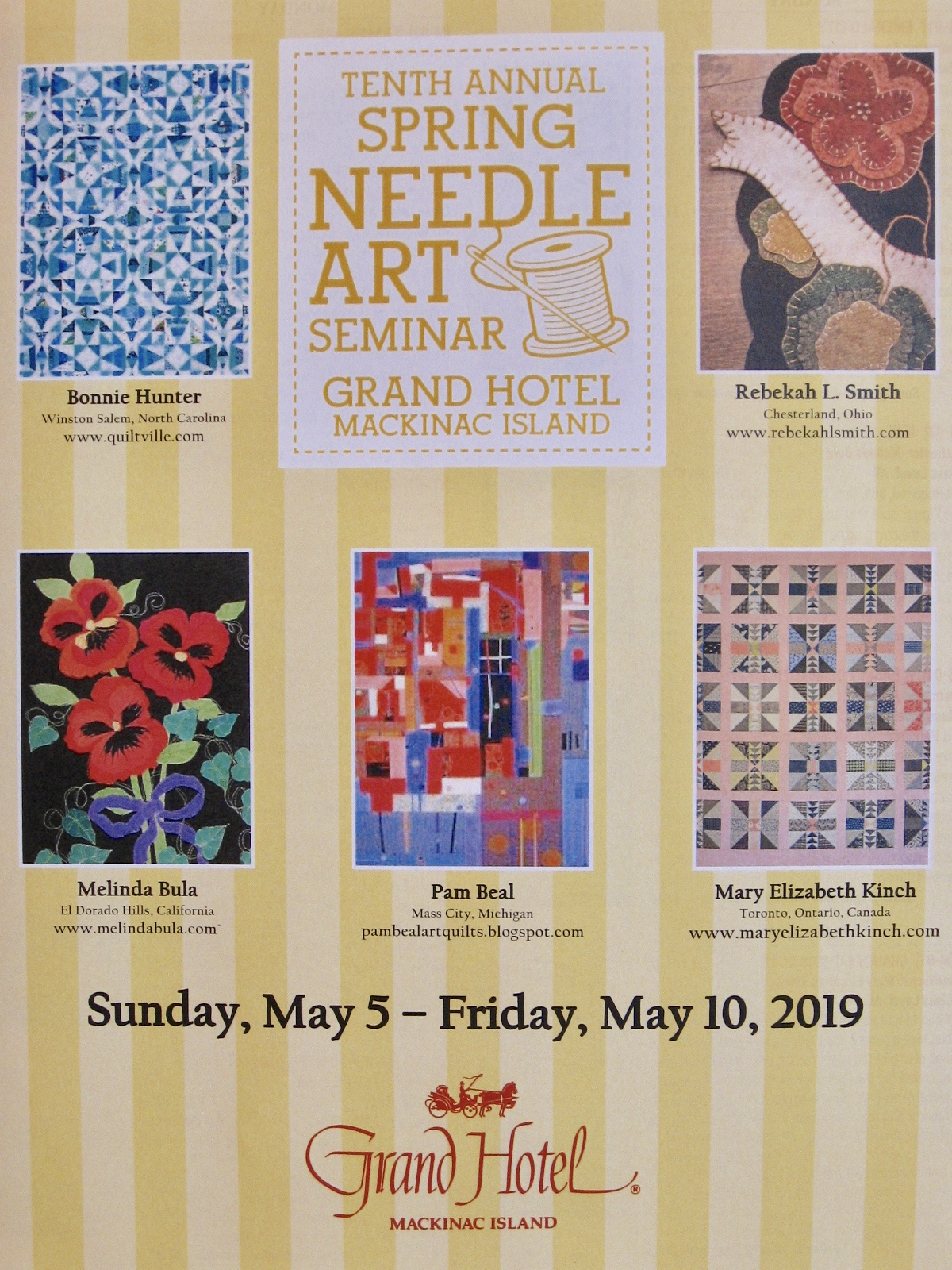 Pam Beal Art Quilts 2019