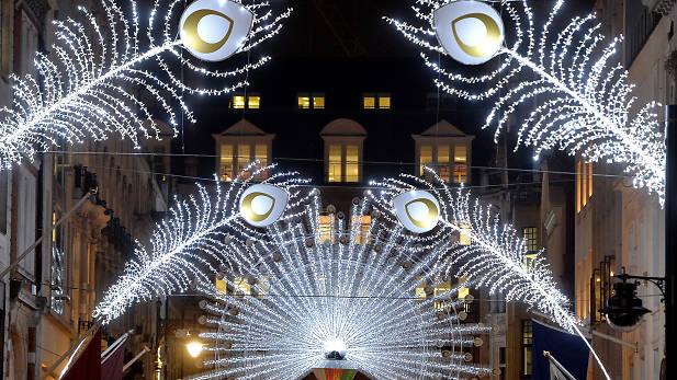 Oxford Street Lights Christmas London