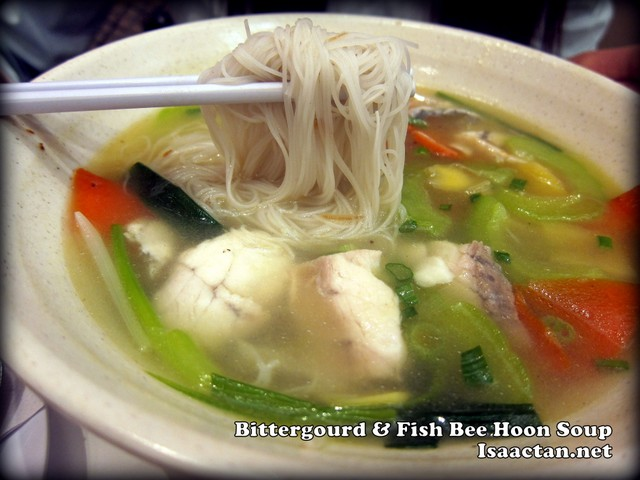 Bittergourd Fish Bee Hoon Soup