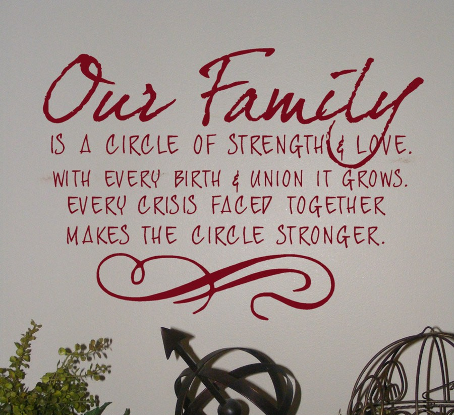 Inspirational Family Quotes: Straight Quotes: Family Quotes