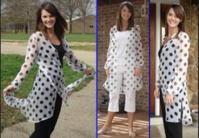 model baju bahan sifon untuk orang gemuk