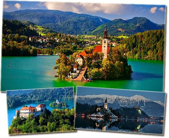 7 cidadezinhas mais incríveis do mundo - Bled