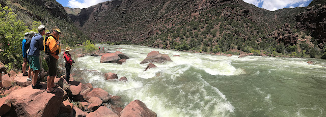Green River Gates of Lodore White Water Dory Trip