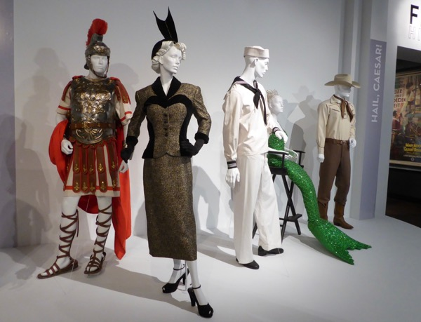 Hail Caesar movie costume exhibit FIDM