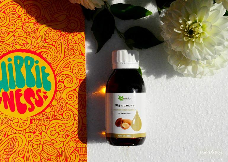 ShinyBox Hippieness - EkaMedica Olej Arganowy z nasion drzewa arganowego