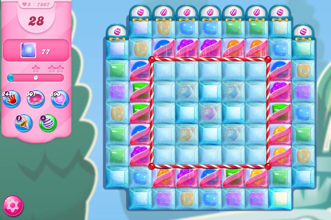 Candy Crush Saga level 7867