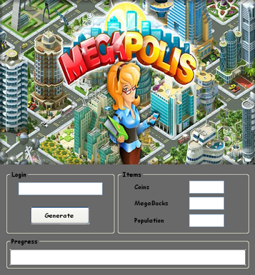 Download Free Megapolis Hack Unlimited Coins,Mega Bucks,Population 100% working and Tested for IOS and Android MOD.