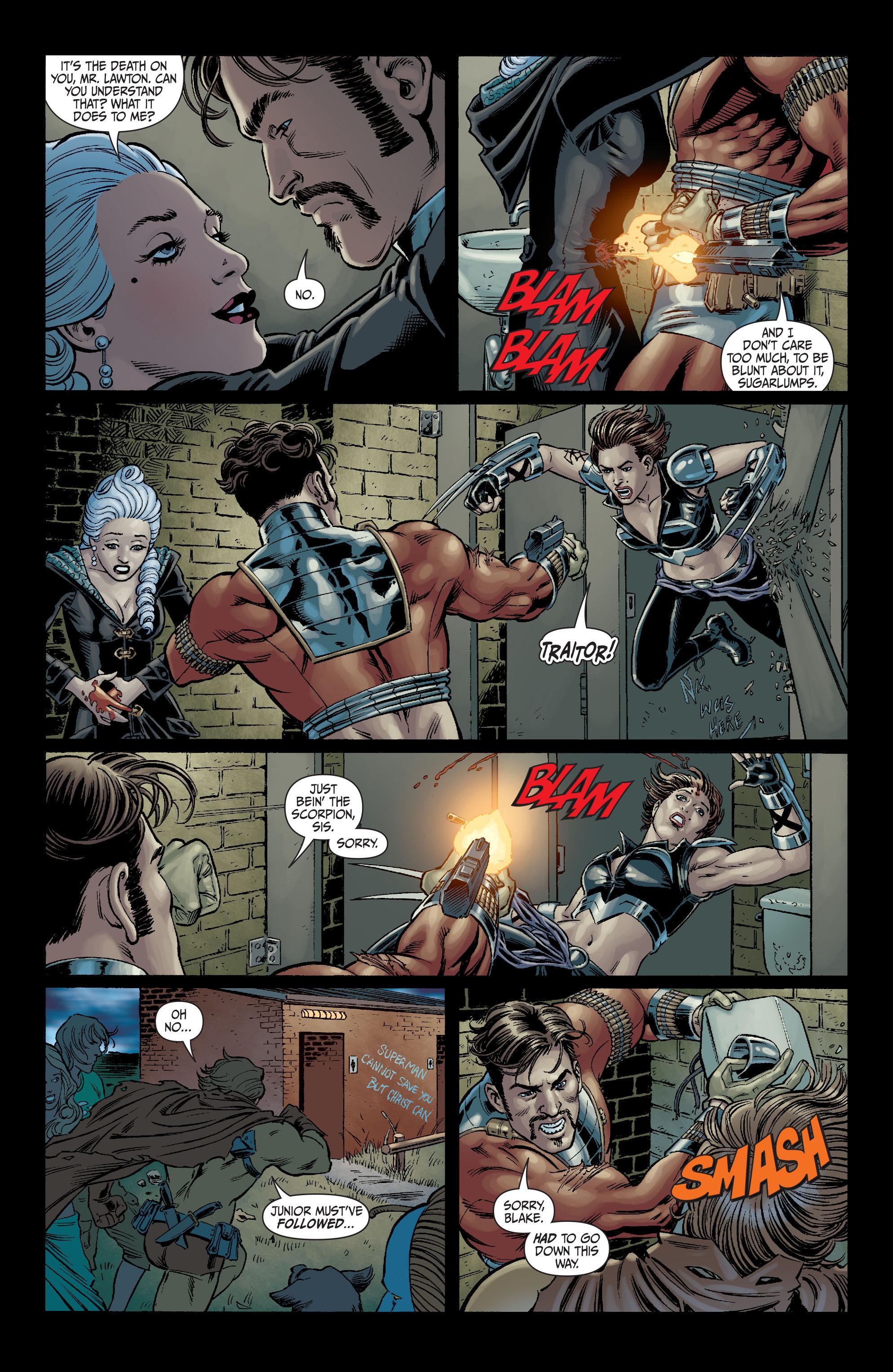 Read online Secret Six (2008) comic -  Issue #6 - 17