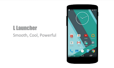L Launcher Pro Lollipop Theme Versi 2.82 - the best Android 5.0 Lollipop experience!
