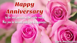Anniversary Wishes For Parents Whatsapp Status Video Download