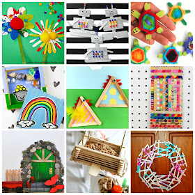 20+ cute and fun kids popsicle crafts