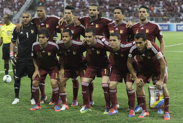 Formación de Venezuela ante Chile, Clasificatorias Brasil 2014, 9 de junio de 2012