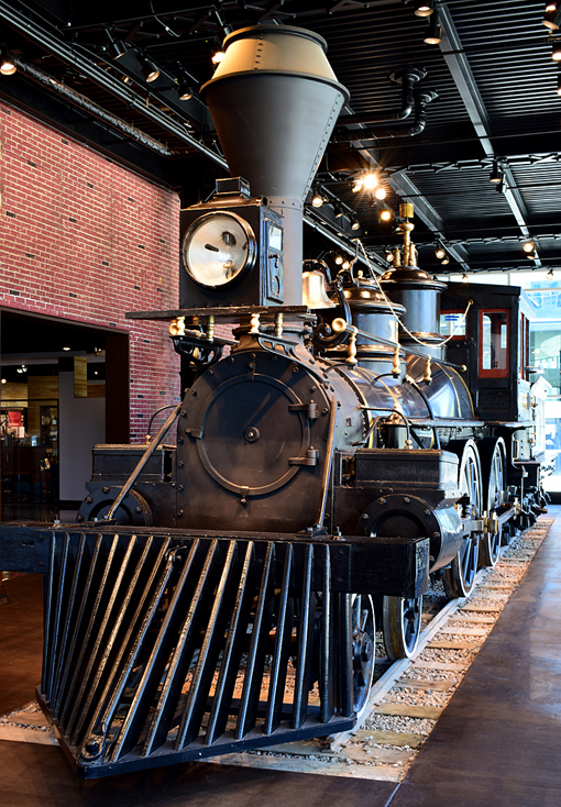 Texas Locomotive | Atlanta History Center | Photo: Travis. S Taylor