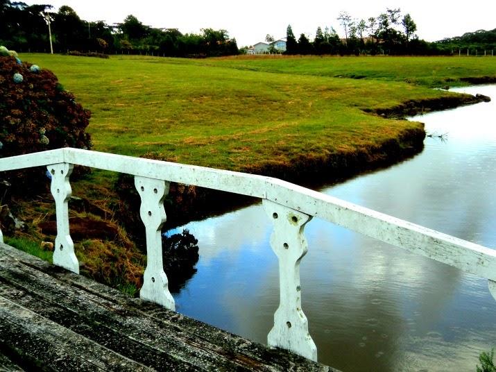 A Ponte para o Palácio das Hortênsias, em Canela
