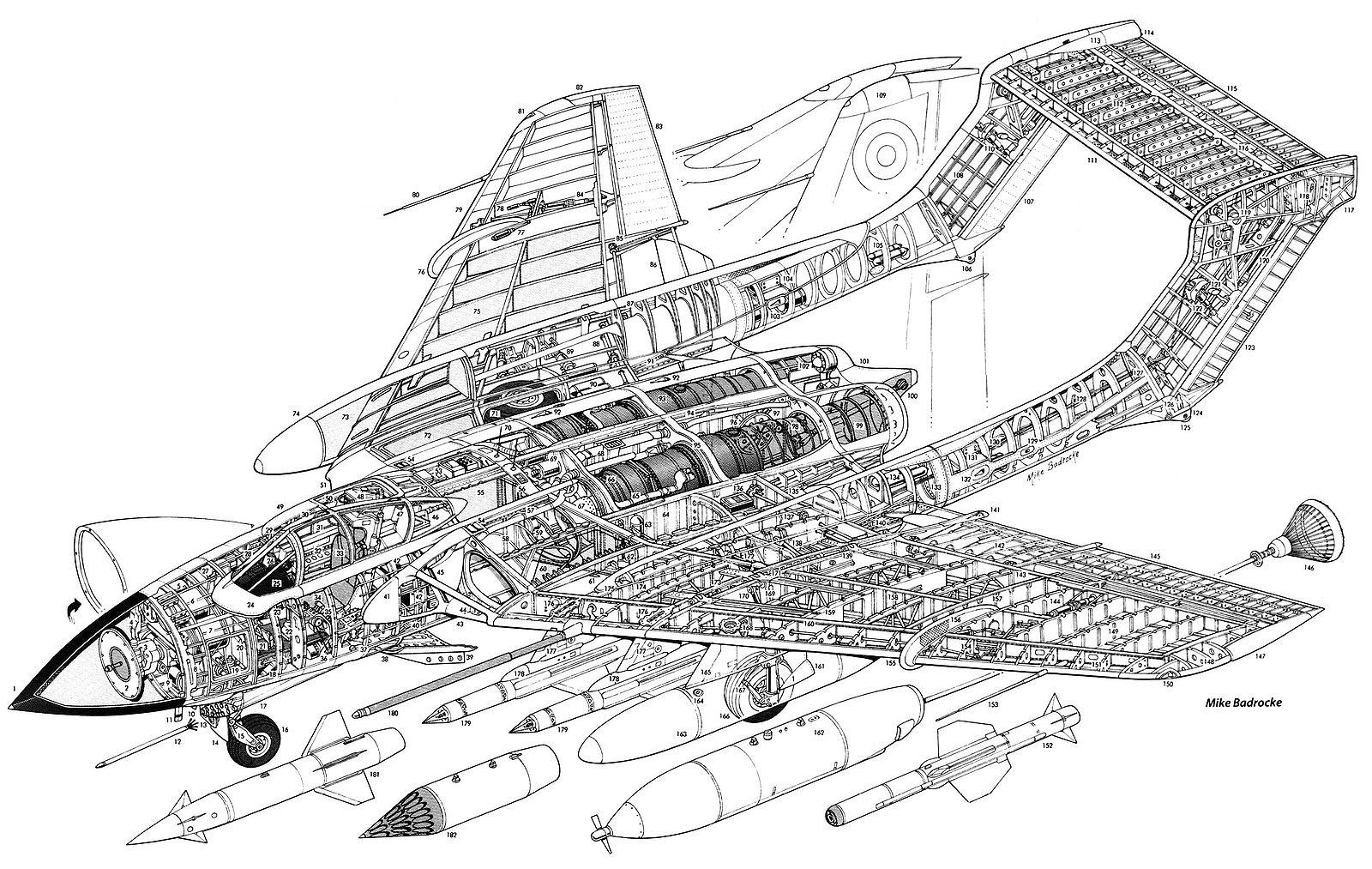 Tant Blog 85 Hawker Siddeley De Havilland D H 110 Sea Vixen