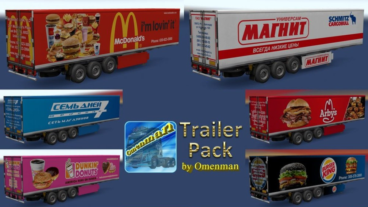 Foods Trailers Pack v 1.02.00