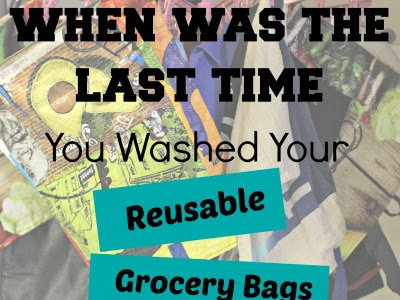 Washing and Organizing Reusable Bags