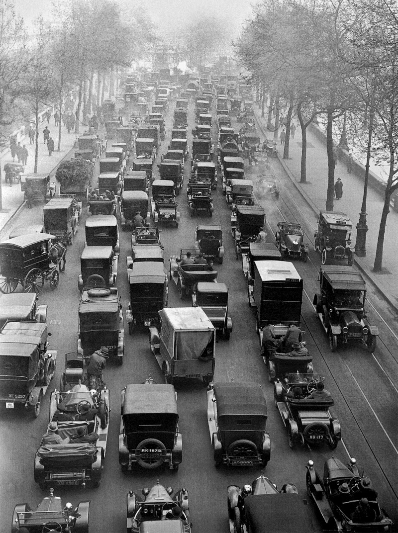 London During The General Strike Of 1926 Vintage Everyday