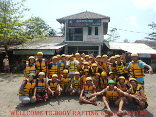 Prosedur Booking Body Rafting Green Canyon