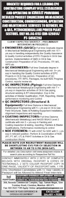Leading EPC Company jobs in Kuwait