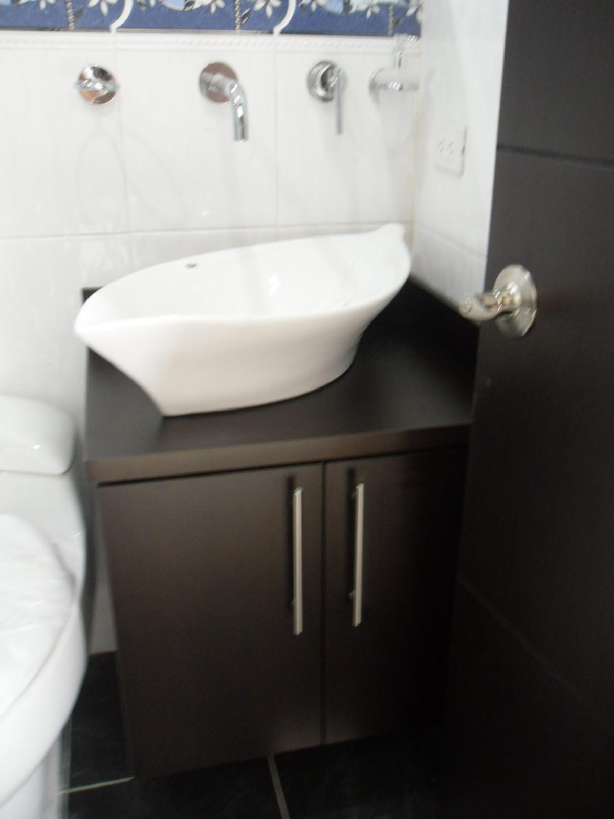 Arte hogar muebles para lavamanos for Muebles de bano modernos pequenos