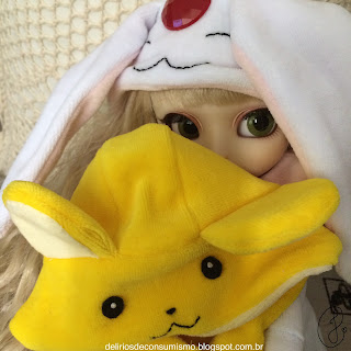 review, loja, starryhat, ms. starryhat, kigurumi, pullip, typhona, innocent world, iw, kero, mokona, sakura, clamp, sakura kinomoto, kero, sakura card captor, xholic, tsubasa chronicle, tsubasa reservoir chronicle, doll, japan, japanese, Japão