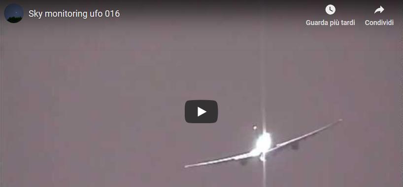 Avvistamento UFO Roma, Video dell'Aeroporto di Fiumicino torna virale.
