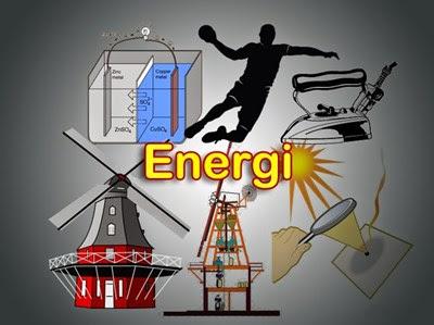 Pengertian Energi, Jenis-Jenis serta Manfaat Energi