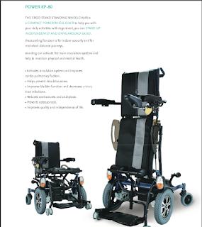 Karma Stand-Up Power Wheelchair
