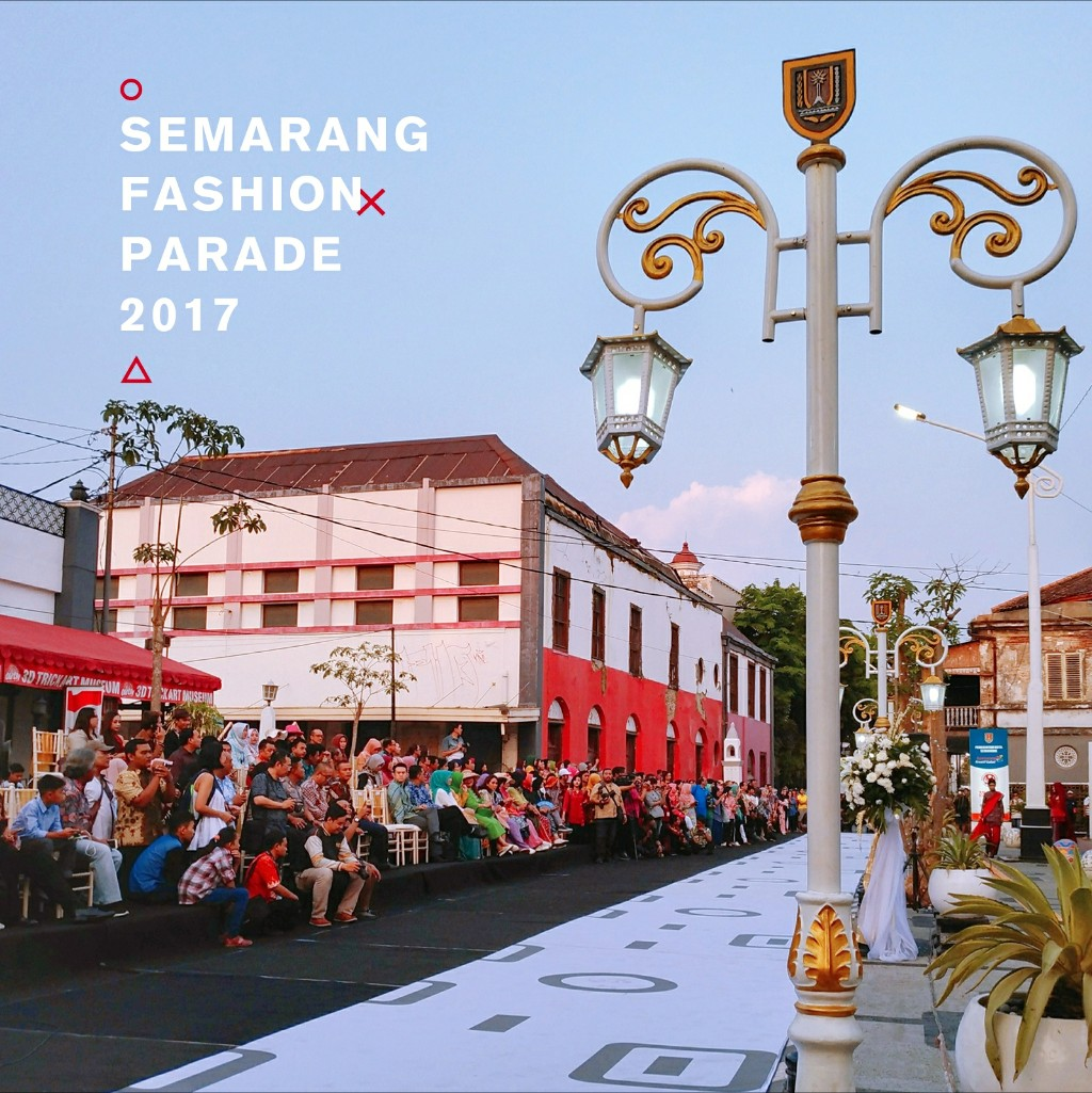 Photoblog Semarang Fashion Parade Di Kota Lama