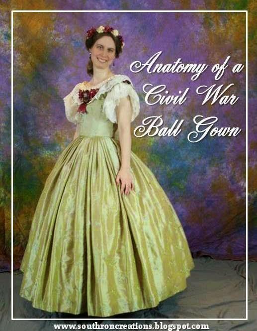 Civil War Ball Gown 115
