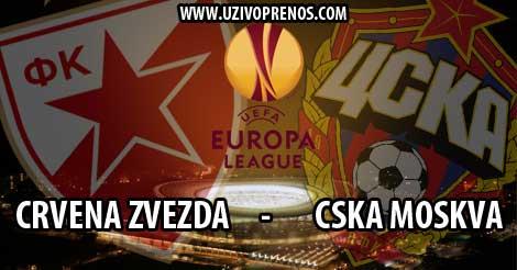 Uživo prenos online Zvezda - CSKA
