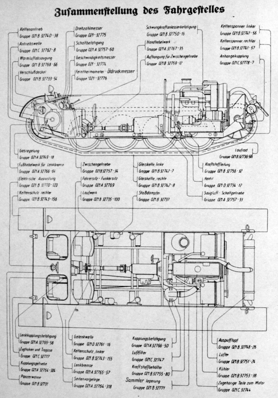instead of a v shaped engine the vehicle indexed la s 138 used the 140 hp linear maybach hl 62 tr engine the same as on the pzii ausf c  [ 928 x 1329 Pixel ]