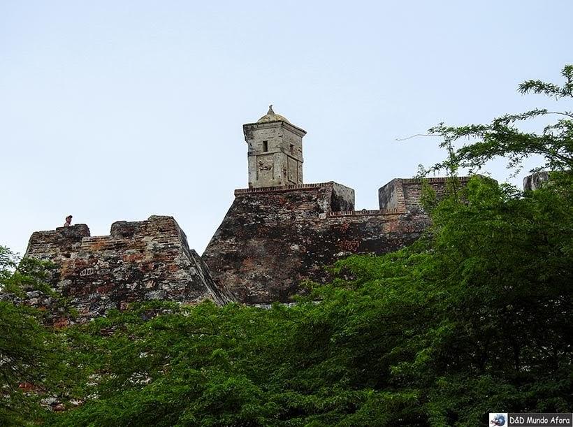 Castelo de San Felipe de Barajas, Cartagena na Colômbia